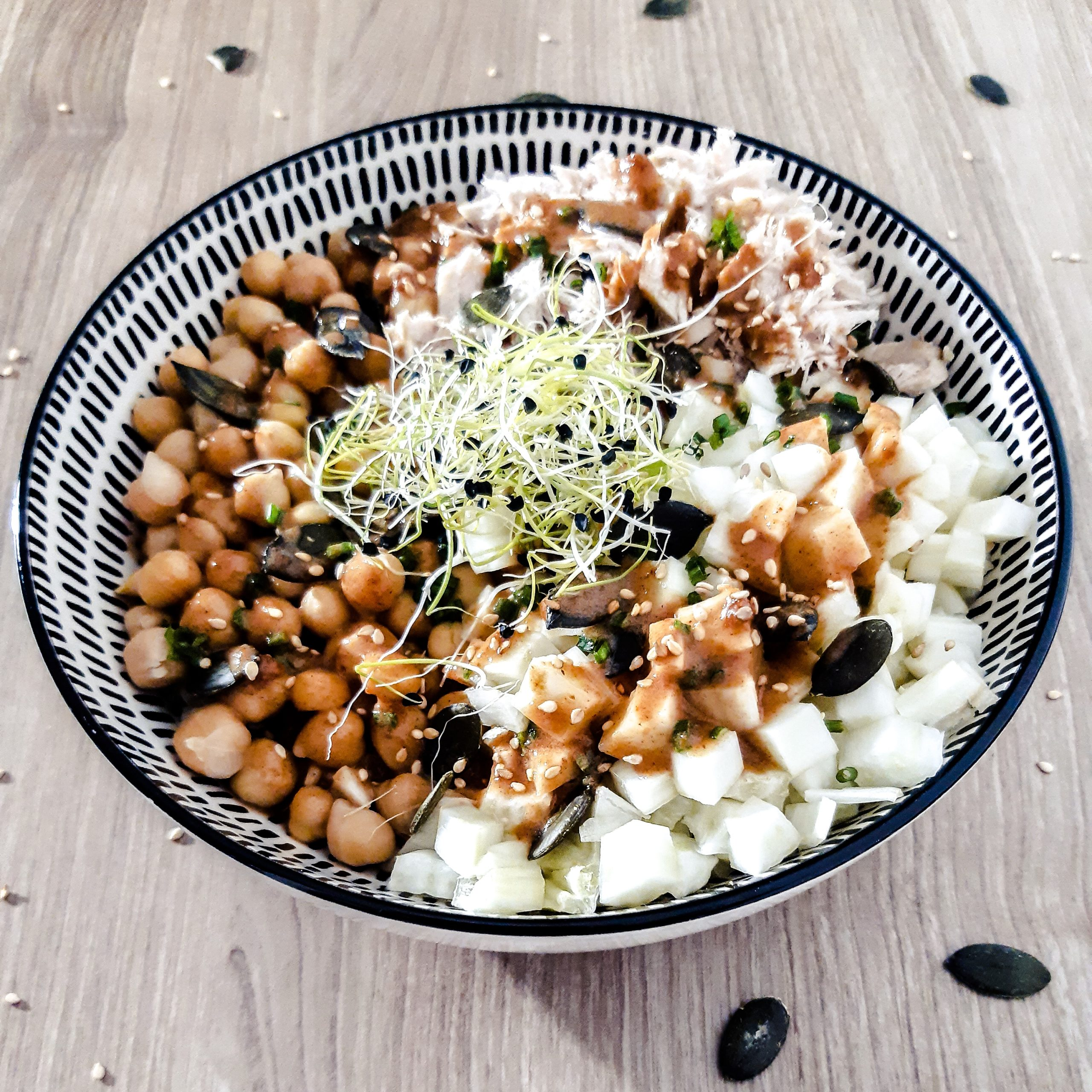 Bowl fenouil pois-chiches